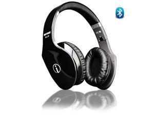 Wireless HD Fashion Hi-Fi Bluetooth Headphones w/ Touch Gesture Control (Black)