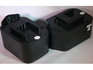 Tank® 2 PACK 2500AH Battery for Porter Cable 14.4v 14.4 Volt 8723 - HIGH RATE