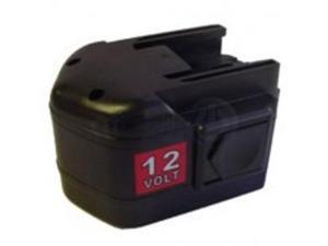 Milwaukee B12 Replacement Power Tool Battery by Titan 12V 3.0Ah Ni-MH