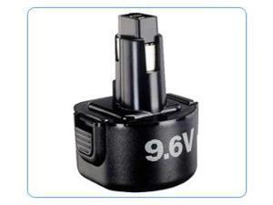 Black & Decker DE964 Replacement Power Tool Battery by Tank 9.6V 2.0Ah Ni-CD
