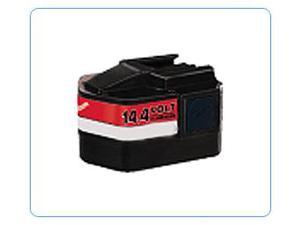 Milwaukee 0513-21 Replacement Power Tool Battery by Titan 14.4V 3.0Ah Ni-MH