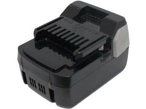 1.5ah Battery for Hitachi HXP 18 Volt Lithium Ion BSL 1815X/BSL 1830 Slide Style by Titan