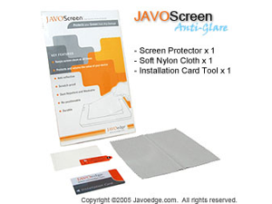 JAVOedge Anti-Glare Screen Protector for Motorola Q