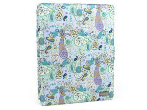 JAVOedge Paisley 360 Rotating Smart Cover Case with Stand for Apple iPad 2
