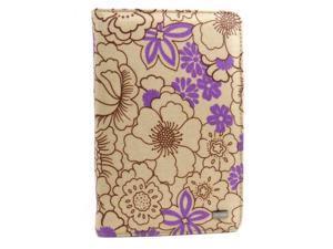"JAVOedge Poppy Multi-Angled Book Case for Amazon Kindle Fire 7"" (Plum Purple)"