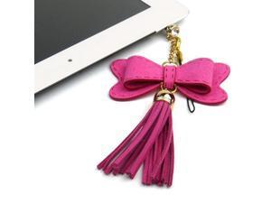 JAVOedge Hanging Bow Charm (Pink)