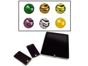 JAVOedge Home Button Sticker (Zebra)