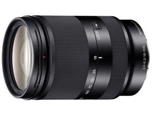 SONY SEL18200LE 18-200mm f/3.5-6.3 Zoom Lens Black