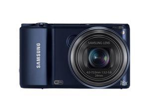 SAMSUNG WB250 EC-WB250FBPBUS Black 14.2MP 24mm Wide Angle Long Zoom Smart Camera