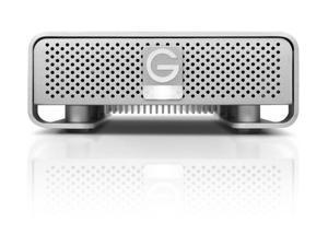 G-Technology G-DRIVE 2 TB 7200 RPM Professional-Strength External Hard Drive, Silver (0G02529)