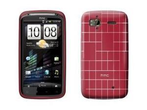 OEM HTC TPU Skin Cover for HTC Sensation 4G Model 70H00433-01M Red