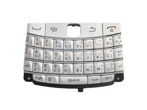 Blackberry 9780 Keyboard (QWERTY Keypad) - White