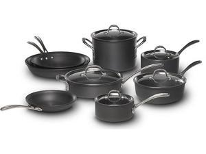 Calphalon Commercial Hard-Anodized 13-pc. Cookware Set 1800607