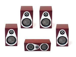 Veritas Mini 5.0 Reference Home Theater Speaker Package (Rosenut)