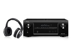 Denon Supreme Sound Bundle - AVRX3000 Home Theater Receiver + AH-D600 Music Maniac Headphones