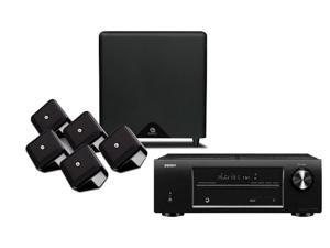Denon AVR-1513 5.1 Home Theater Package with Boston Acoustics Soundware XS Speakers