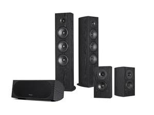 Pioneer SP-FS52 Andrew Jones 5.0 Home Theater Speaker Package (Black)