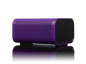 Braven 440 Water Resistant Portable Wireless Bluetooth Speaker/PowerBank Charger (Purple)
