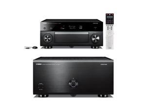 Yamaha CX-A5000 11.2 Channel AV Pre-Amplifier and MX-A5000 11 Channel Power Amplifier Bundle