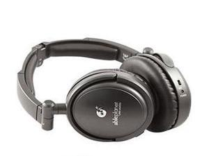Able Planet NC180B Musicians' Choice® Foldable Active Noise-Canceling Headphones with Linx Audio