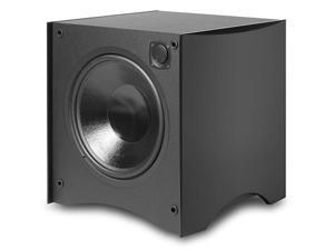 "444SB-BLK Powered Box 12"" Subwoofer 325 Watt (Satin Black)"