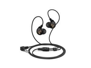 IE60 Noise Isolation Earbud Headphones (Black)