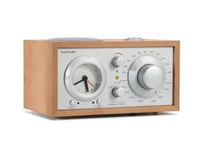 M3SLC Model Three AM/FM Clock Radio (Cherry/Silver)