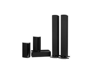Definitive Technology BP-8060 SuperTower Floor-Standing Speakers and Built-In Powered Subwoofer Bundle (Gloss Black)