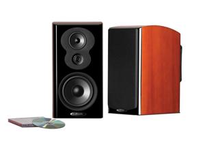 Polk Audio LSiM703 Bookshelf Loudspeaker - Each (Mt. Vernon Cherry)
