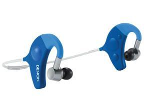 Denon AH-W150BU Exercise Freak In-Ear Wireless Headphone (Blue)
