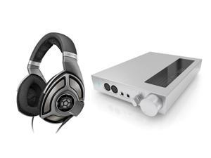 Sennheiser HD700 Professional Stereo Over-Ear Headphones with HDVD800 Digital Headphone Amplifier Bundle