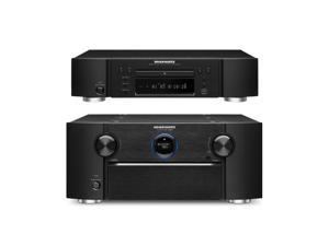 Marantz AV8801 A/V Preamplifier and UD5007 Universal Blu-Ray Disc Player Bundle