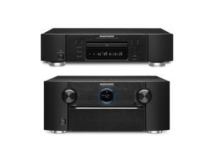 Marantz SR7008 9.2 Channel Home Theater Networking Receiver and UD7007 Super Audio CD/Blu-Ray Disc Player Bundle