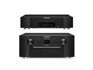 Marantz SR7008 9.2 Channel Home Theater Networking Receiver and UD5007 Universal Blu-Ray Disc Player Bundle