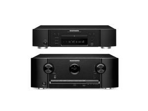 Marantz SR5008 7.2 Channel Network Home Theater Receiver and UD5007 3D Universal Blu-Ray Disc Player Bundle
