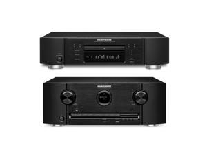 Marantz SR6008 7.2 Channel Networking Home Theater Receiver and UD7007 Super Audio CD/Blu-Ray Disc Player Bundle