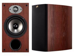 """Polk Audio TSx220B 2-Way Bookshelf Speaker with 6-1/2"""" Driver - Pair (Cherry)"""