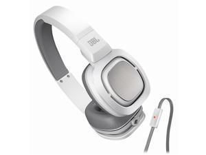 JBL J55a On-Ear Headphones with Mic & Android Control (White)