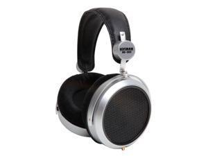 HifiMan Electronics HE-300 Over-Ear Dynamic Stereo Headphones (Black/Silver)