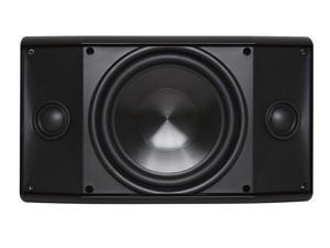 "Proficient Audio AW600TT 6.5"" Stereo TT Indoor/Outdoor Speaker - Each (Black)"