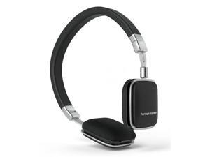 Harman Kardon Soho-I On-Ear Headphones with In-line Apple Compatible Mic & Controls (Black)