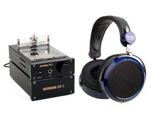 HifiMan Electronics HE-400 Over-Ear Headphones with EF-5 Headphone Amplifier Bundle (Black)