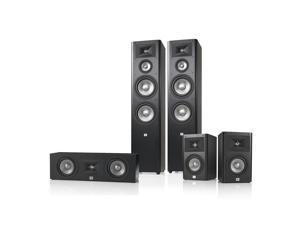 JBL Studio 290 5.0 Home Theater Speaker System Package (Black)