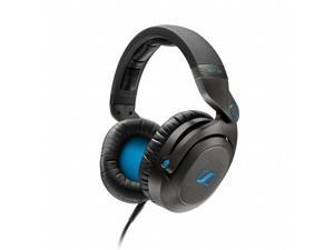 Sennheiser HD7 DJ Headphones Closed Over-Ear (Black)