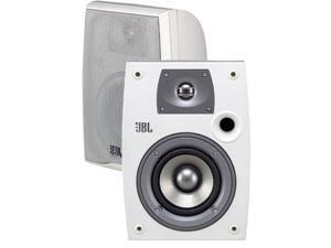 "JBL N24AWII Northridge All-Weather 2-Way 4"" Outdoor Speaker Pair (White)"