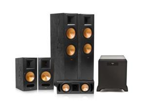 Klipsch RF-82 II Reference Series 5.1 Home Theater System with SW-450 Subwoofer (Black)