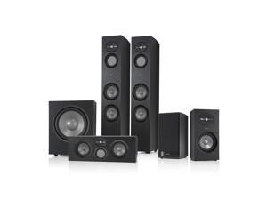Infinity Reference 5.1 Home Theater Speaker Package (Black)