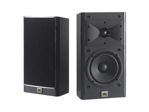 "JBL Arena 120 2-Way 535"" Wall-mountable Bookshelf Loudspeakers - Pair (Black)"