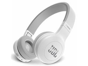 JBL E45BT Wireless On-Ear Headphones with One-Button Remote and Mic (White)