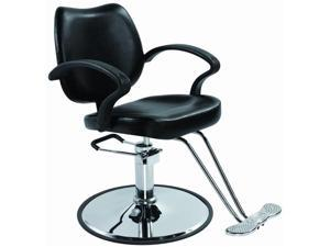 Black Modern Fashion Classic Hydraulic Barber Chair Styling Salon Beauty Spa 3B